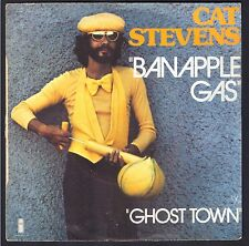 CAT STEVENS SP 45T 1976 / ISLAND RECORD 6138.084 Banapple gas / Ghost town