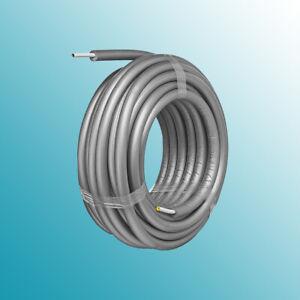 Mehrschichtverbundrohr Alpex F50 Profi 16x2mm vorgedämmt 9mm isoliert / 50m Ring