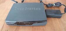 Cisco Router 876W V03 - 4 Ports 100MBits mit Netzteil und Antennen