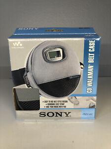 Sony CD Walkman Discman Belt Case Waist Clip Fanny Pack 1990's Never Used Sealed
