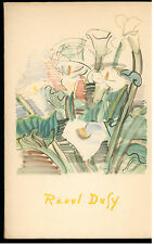 ROGER-MARX CLAUDE RAOUL DUFY HAZAN 1950 BIBLIOTHEQUE ALDINE DES ARTS 13 ARTE