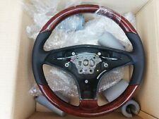 Mercedes SL R230 SLK R171 CLS W219 Holz lenkrad AMG Lenkrad MOPF 9E84