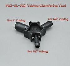 "PEX-AL-PEX Tubing Chamfering Tools Reaming Rounder For 1/2"" 3/4"" 1"" PEXwork #0T"