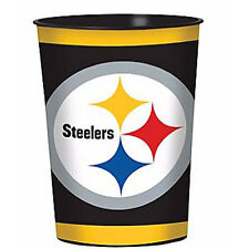 NFL Pittsburgh Steelers REUSABLE KEEPSAKE CUPS (2) ~ Birthday Party Supplies