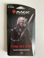 Magic The Gathering Core Set 2020 35 Card Booster Pack Black theme booster
