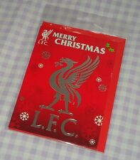 Official Liverpool FC Football Club Supporters Team Crest Christmas Card BNIP