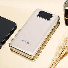 Power Bank 100000mAh LCD Externe Batterie Ladegerät Zusatz Akku 2USB für Handys