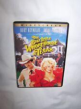 The Best Little Whorehouse in Texas (DVD 2003) Burt Reynolds, Dolly Parton; EUC