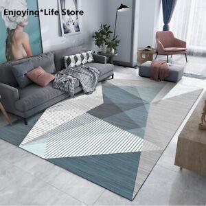 Living Room Carpet Floor Mat Nordic Modern Minimalist Geometric Home Bedside Rug