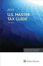 U. S. Master Tax Guide (2015) (2014 , Paperback, Annotated) BONUS Top Fed Issues