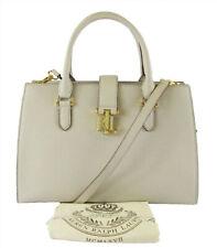 LAUREN RALPH LAUREN CARRINGTON BRIGITTE II Beige Leather Satchel Bag Msrp   228 342667d9c5d8c