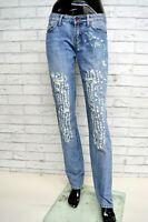 Jeans GAUDI Donna Taglia 40 Pantalone Pants Woman Gamba Dritta Cotone
