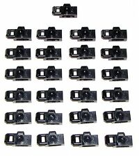 Lego Lot of 25 New Black Minifig Utensils Camera Handheld Style Film
