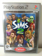 Sealed The Sims 2 Platinum Sony Playstation 2 ps2 Pal Excelent