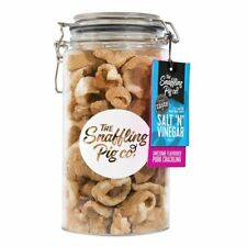 Snaffling Pig 300G Pork Crackling in 1.5L Gifting Gift Jar (Salt and Vinegar)