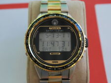 Nice Vintage TIMEX Microsoft Data Link Two Tone Indiglo Men's Watch
