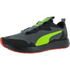 Puma Mens NRGY Neko Skim Gray Running Shoes Sneakers 12 Medium (D) BHFO 0478