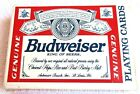 Vintage Playing Cards Budweiser King Of Beers Bicycle Plastic Coated Complete