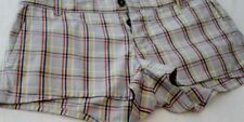 Jack Wills Cotton Check Shorts for Women