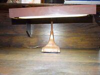 14910/ Vintage Dazor Desk Lamp Industrial Drafting Arm Light Mid Century