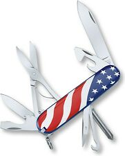 Victorinox Swiss Army Knife 53342 American Flag Super Tinker Pocket Tool Genuine