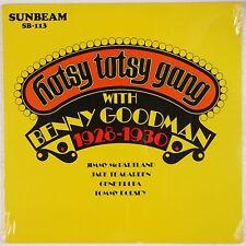 BENNY GOODMAN: Hotsy Totsy Gane SEALED Sunbeam 70s Press JAZZ Vinyl LP