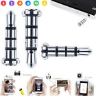 3.5mm Smart Key Button Dustproof Klick Quick Jack Plug For Android Cell Phone EY