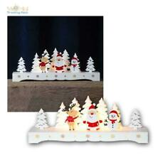 "LED Candle Arches "" Rudolf "" Battery Mode,Window Lights,Illuminated Arch Wooden"