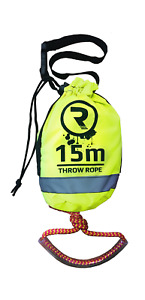 Buoyant Throw Rope Rescue Line for Yacht Canoe Kayak 15m x 8mm Riber