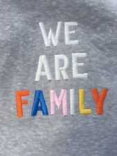 SS Grey Tee We Are Family By Junk Food Thanksgiving Holiday Perfect