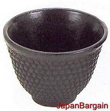 4x Japanese Cast Iron Teacup Hobnail Black TB32-BK S-2131x4