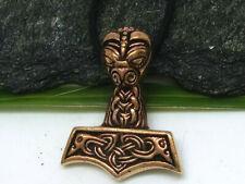 Thor Martillo Bronce Colgante Celta Vikingo Martillo de Thor Mjölnir
