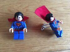 Superman cufflinks. Hero minifigure cuff links, superhero cufflinks. Mini figure