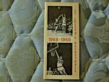 1968-69 ST JOSEPH'S BASKETBALL MEDIA GUIDE Yearbook 1979-80 Los Angeles Lakers