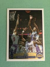 Topps Chrome Rookie Card Carmelo Anthony 2003-04 Draft Pick #3