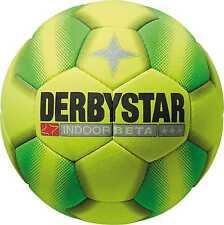 Derbystar Indoor Beta Fußball Hallen Fussball Gr.5 gelb Sport Teamsport Ball