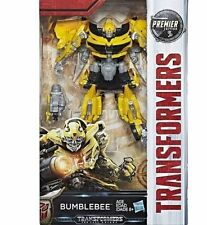 HASBRO TRANSFORMERS MV5 THE LAST KNIGHT DELUXE BUMBLEBEE BLASTER FIGURE W3