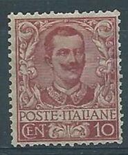 1901 REGNO FLOREALE 10 CENT MH * - RR4005