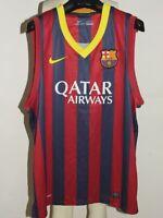 Soccer Jersey Tank Top Maillot Camiseta Barcelona Size XL