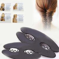 Women Braid Hair Braiding Tool French Braid Roller Magic Styling Bun Maker DIY