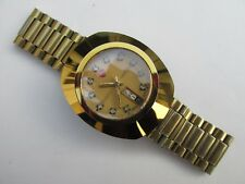 Men's RADO DIASTAR SCRATCHPROOF AUTOMATIC 2836-2 Day-Date Watch Swiss Made