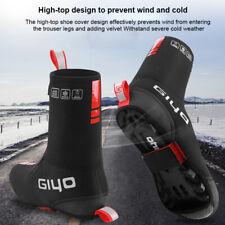 Waterproof Cycling Overshoes Neoprene Windproof Shoe Cover Thermal Black