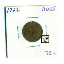 1926 Canada 1 cent Coin , AU55 (OOAK)