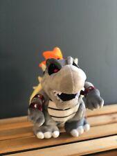 "Super Mario Bros. Dry Bowser Bones Koopa Plush Doll Soft Stuffed Animal Gift 10"""