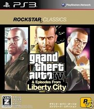 Used PS3 Grand Theft Auto IV: The Compl PLAYSTATION 3 SONY JAPAN JAPANESE IMPORT