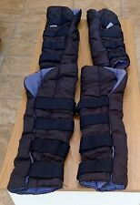 Shires Travel Boots Wraps Size L Large
