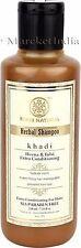 Khadi Herbal Henaa Tulsi extra conditioning Shampoo- SLS & Paraben Free- 210ml