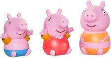 Peppa Pig Peppa's Bath Water Squirters Toy Figures Figure Set Bathtime Playset