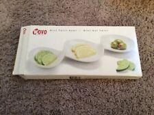 NEW WITH BOX Wovo Mini Twist Bowl White Retro Dish