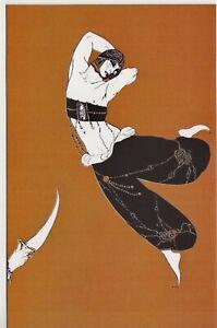 VASLAV NIJINSKY Ballet Lithograph ROBERTO MONTENEGRO 1913 Russian NEW Postcard